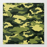 "military Canvas Prints featuring Military  by ""CVogiatzi."