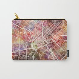 Dallas map 2 Carry-All Pouch