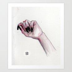 Poisoned Art Print