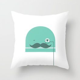 Nerdbot Throw Pillow