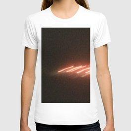 Abstracte Light Art in the Dark Version 23 T-shirt