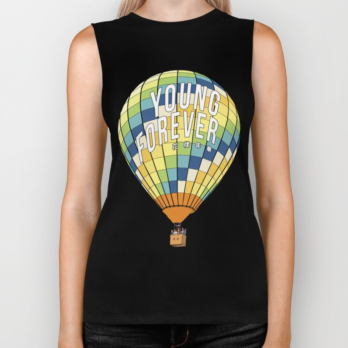 young forever Biker Tank