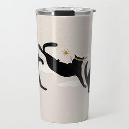 Ninja Cats I. Travel Mug