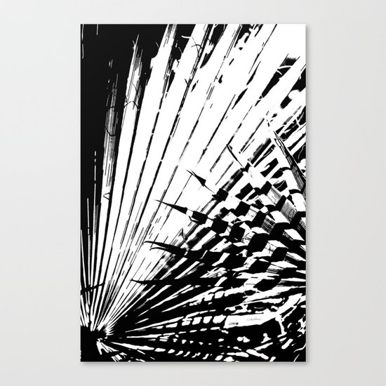 Spiked Palm Canvas Print
