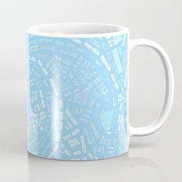 Happy lightful blue Mosaic Coffee Mug