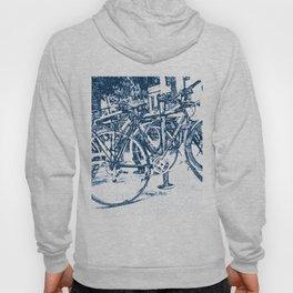 Blue Bicycles Hoody