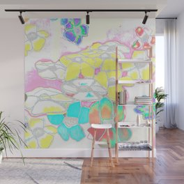 White Spring Wall Mural