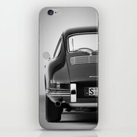 porsche iPhone & iPod Skins featuring Porsche by CABINWONDERLAND