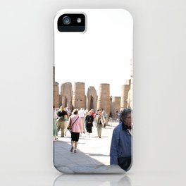 Temple of Luxor, no. 27 iPhone Case