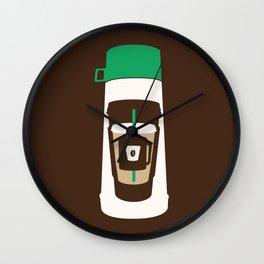 The Coffee Stacker Wall Clock