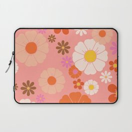 Groovy 60's Mod Flower Power Laptop Sleeve
