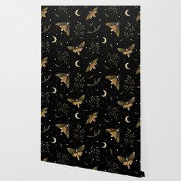 Death Head Moths Night Wallpaper