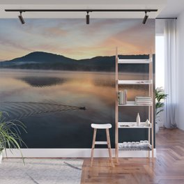 Night's End: Making Ripples Wall Mural