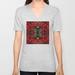 Dance of the Lilies Unisex V-Neck
