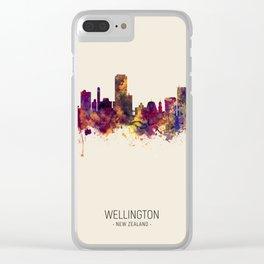 Wellington New Zealand Skyline Clear iPhone Case