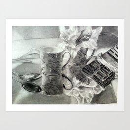Coffee Break Art Print