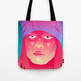 Neon Indian Tote Bag