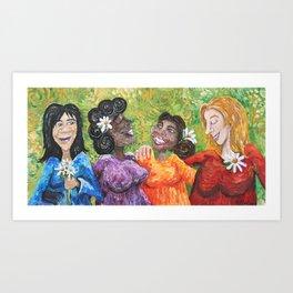 We Are Woman Art Print