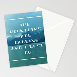 Grand Tetons Calling Stationery Cards