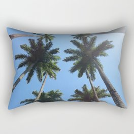 California Palm Trees Rectangular Pillow