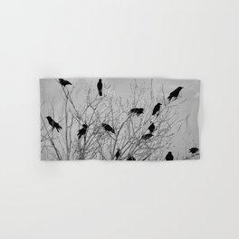 Murder Of Crows - Five Hand & Bath Towel