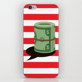 Individuals&Organizations Have a Constitutional Right to Unlimited Spending on Their Own Pol. Speech iPhone Skin