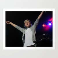 niall horan Art Prints featuring Niall Horan by lackofabettername123