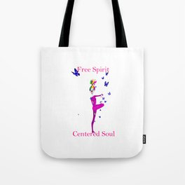Yoga Clown Tote Bag