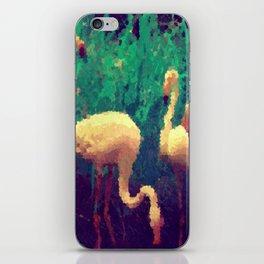 Flamingo Flock iPhone Skin