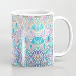 Glamorous Twenties Art Deco Pastel Pattern Coffee Mug