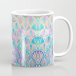Glamorous Twenties Art Deco Pastel Pattern Coffee Mug