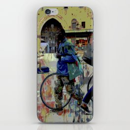 Bologna street iPhone Skin