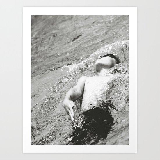 Swimmer Art Print