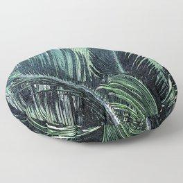 Palm Fronds Floor Pillow