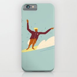 Surf buddy iPhone Case