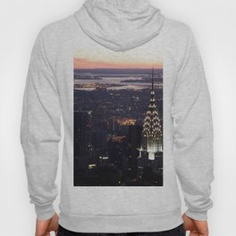 New York Manhattan Evening Dusk Hoody