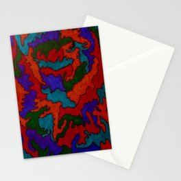 Synapses Firing Stationery Cards