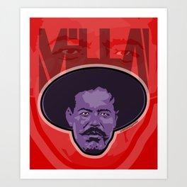 Villa -La Raza 1910 Art Print