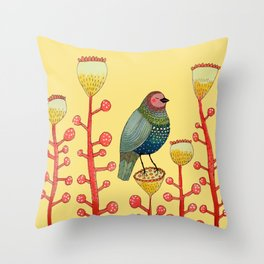 le petit matin Throw Pillow