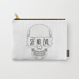 See No Evil Carry-All Pouch