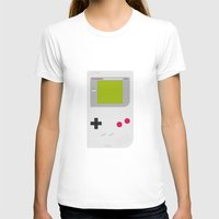 gameboy T-shirts featuring #54 Gameboy by MNML Thing