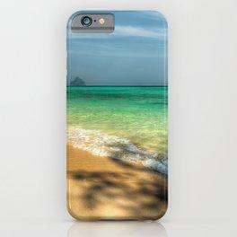 Shaded Beach iPhone Case