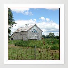 Ohio Bicentennial Barn - Wyandotte County, Ohio Canvas Print