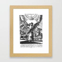The Last Judgement Framed Art Print
