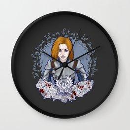 Grey Warden Wall Clock