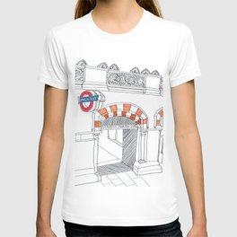 Underground in London T-shirt
