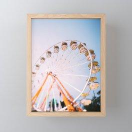 Ferris Wheel 4 Framed Mini Art Print