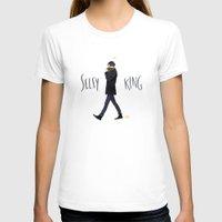 ezra koenig T-shirts featuring Selfy king by Galaxyspeaking
