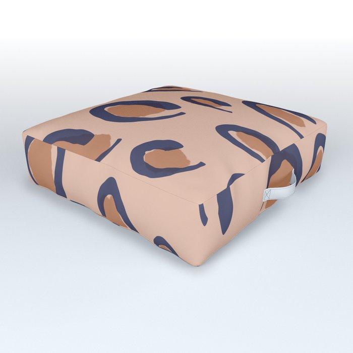 Leopard Outdoor Floor Cushion