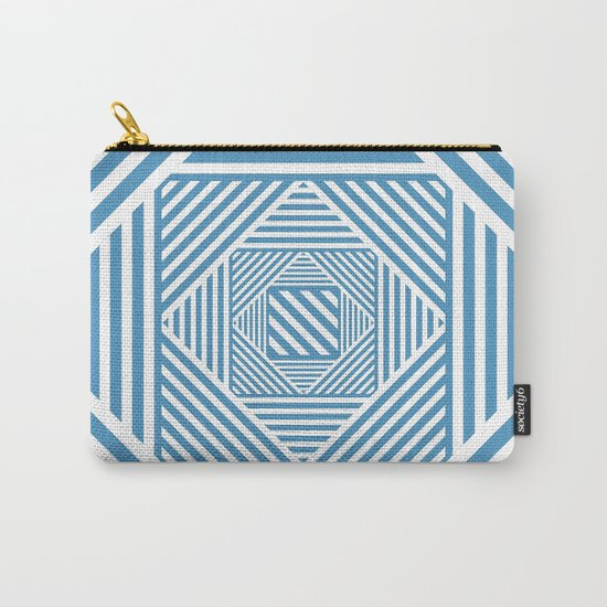 Blue & White Secret Passage Carry-All Pouch